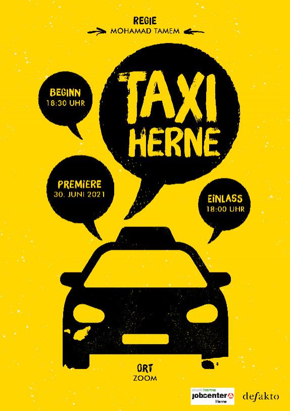 Plakat herne taxi web