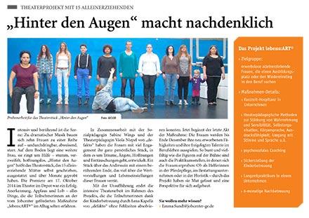 JobCenter-Zeitung argumente über eine Theaterpremiere in Gelsenkirchen