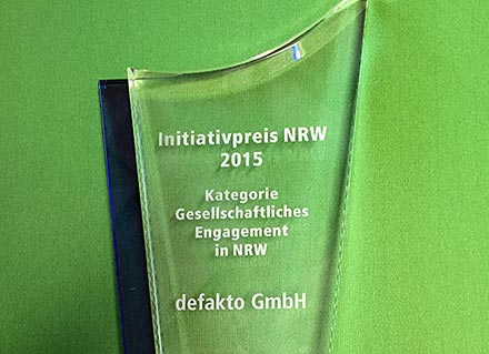 Initiativpreis NRW 2015
